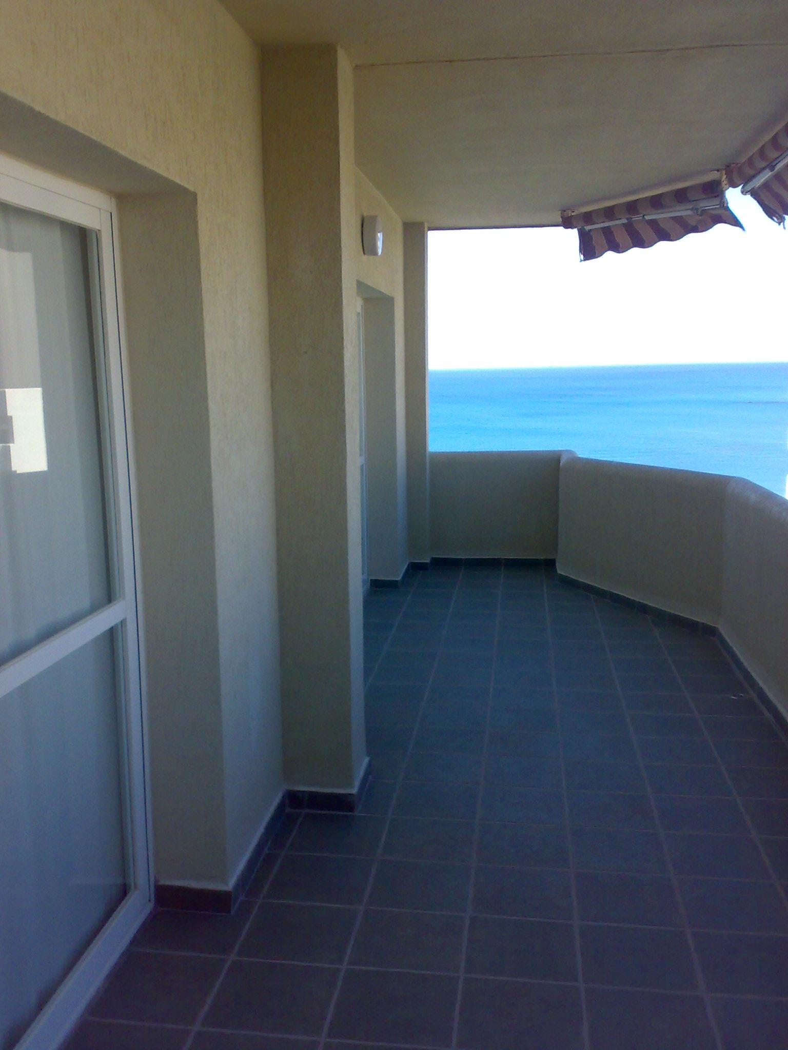 Apartment in Benal Beach: 7th floor, 1st line beach with sea